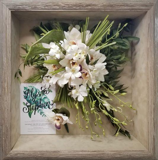 Cascade Orchid Bouquet