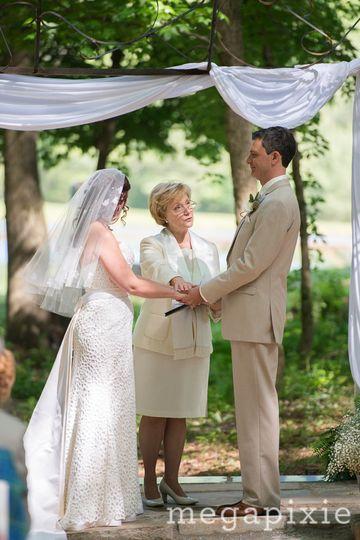 Rev Lodge pronounces them married