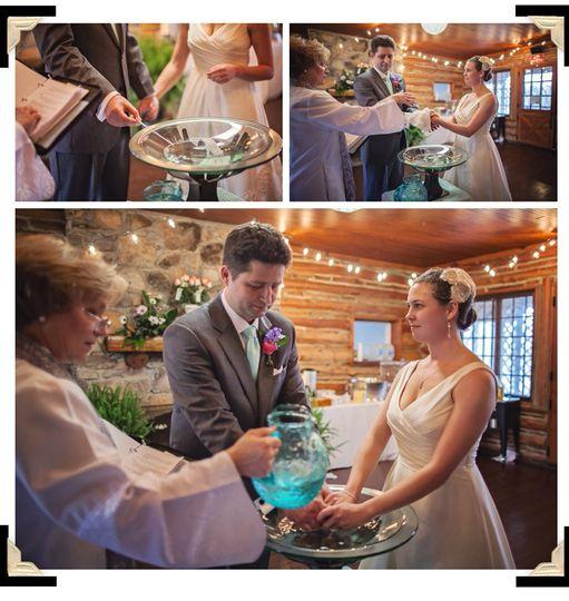 Rev Lodge and handwashing ceremony - Spruce Pine Lodge