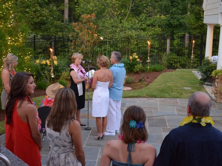 Tmx 1401330937514 Rev Lodge At A Wedding Lua Chapel Hill, North Carolina wedding officiant