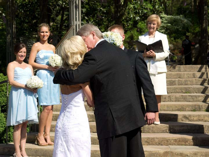 Tmx 1401330973605 Rev Lodge   A Kiss From Dad   Duke Gardens   By Me Chapel Hill, North Carolina wedding officiant