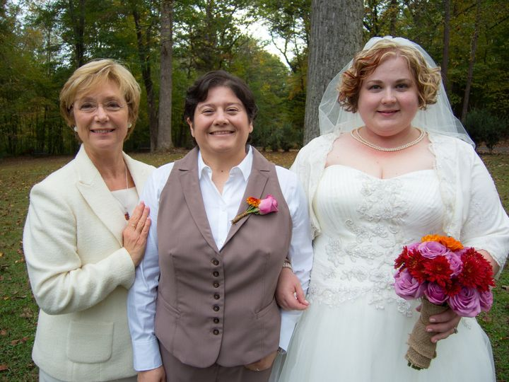 Tmx 1401331044522 Rev. Lodge With Julie And Jaime   Commitment Cerem Chapel Hill, North Carolina wedding officiant