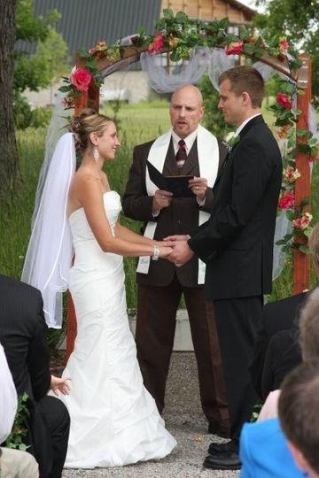 Jill & Jeff wedding ceremony