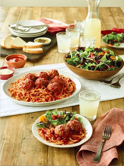 Spaghetti & metballs