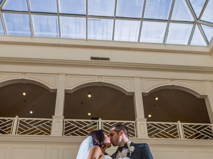 Tmx Bride And Groom In Atrium 51 172568 161054895867853 Virginia Beach, VA wedding venue