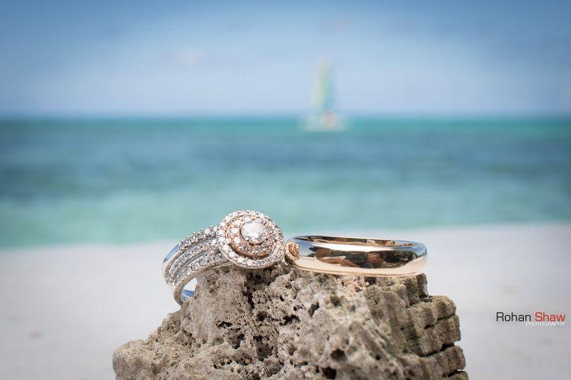 Rings in tropical paradise