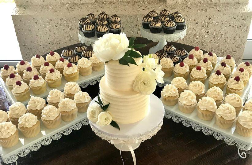 A beautiful dessert table