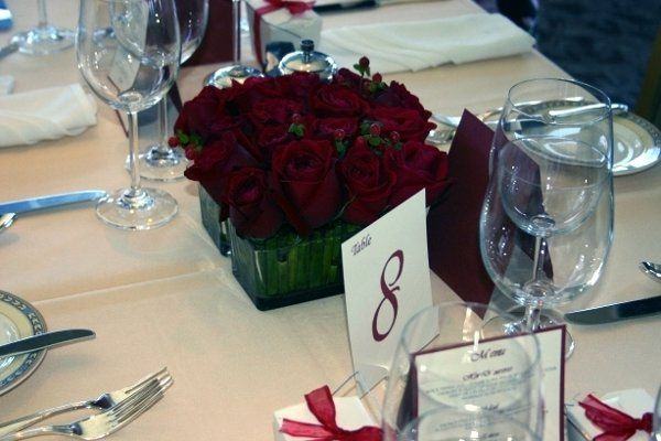 reception red