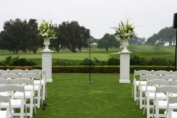 Ceremony at The Lodge at Torrey Pines in La Jolla, CA