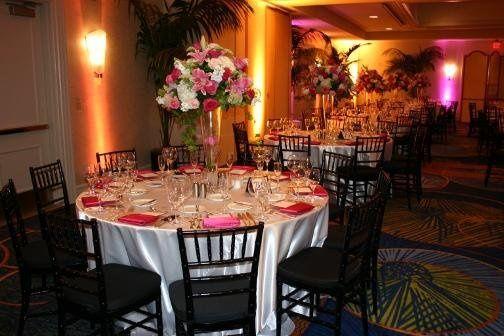 Reception at the Coronado Island Marriott in Coronado, CA