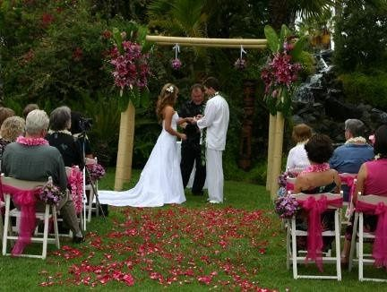 Ceremony at Paradise Point Resort in San Diego, CA