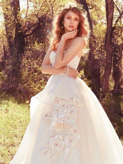 Stunning ball gown