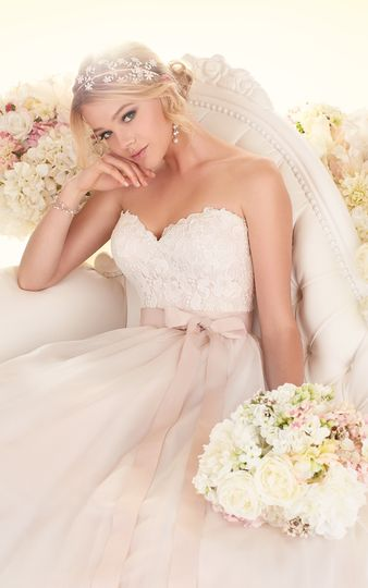 Sweetheart top ball gown