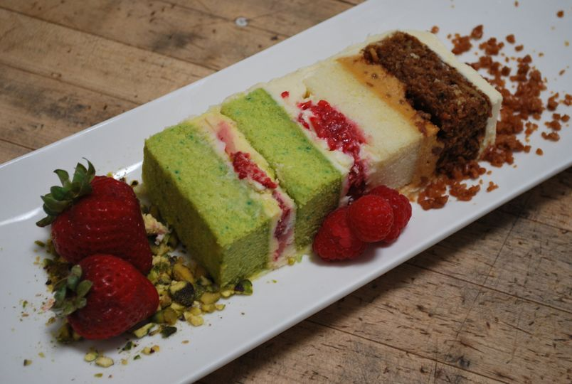 Flight of cake, couples top picks of flavors served to all