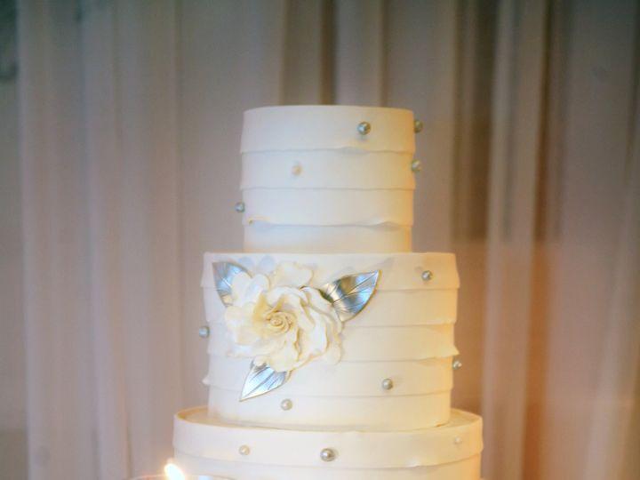 Tmx 1367945862619 Pleatedatritzjade2 Sonoma, CA wedding cake