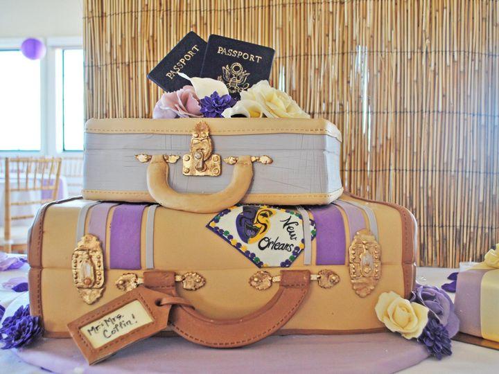 Tmx 1368719041607 Travelincoffin Sonoma, CA wedding cake