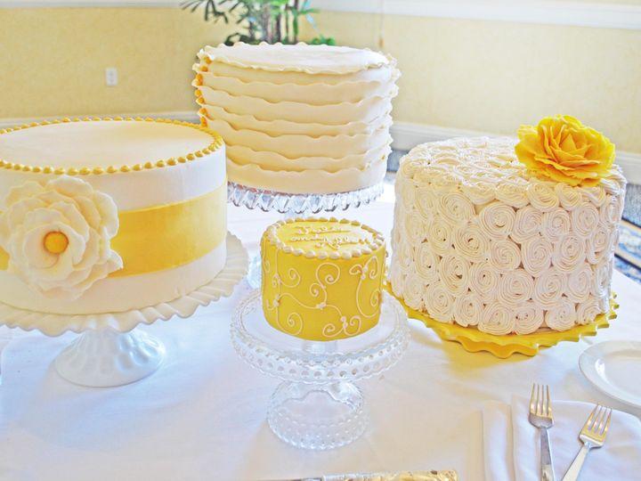 Tmx 1368719451513 Yellowgroupspace Sonoma, CA wedding cake