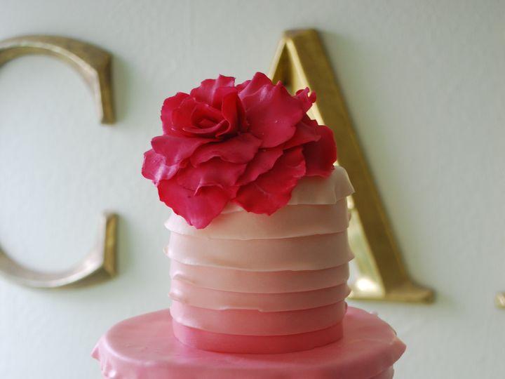 Tmx 1368719523953 Rufflepink3 Sonoma, CA wedding cake