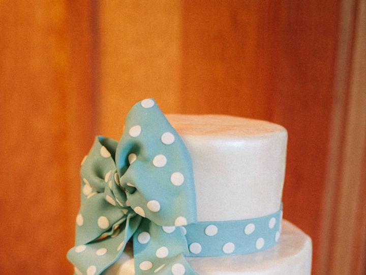 Tmx 1368720575353 Blueandwhite Sonoma, CA wedding cake