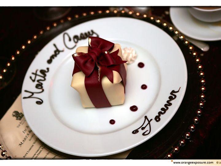 Tmx 1368802204545 Platedorange Phototind Sonoma, CA wedding cake