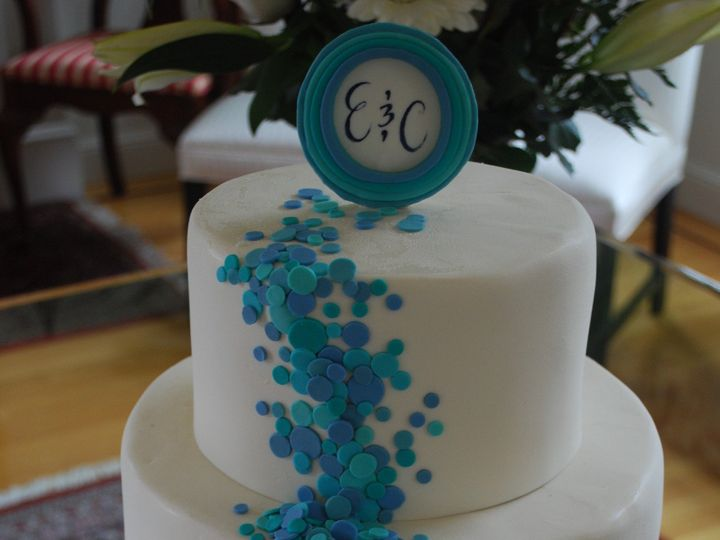 Tmx 1378741209453 Bluesprinkes1 Sonoma, CA wedding cake