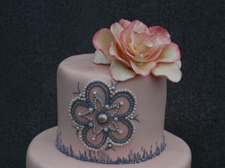 Tmx 1421254085343 Medpink 5 Sonoma, CA wedding cake