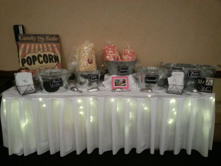 Tmx 1509632866763 Hatten Weaver Reception Popcorn Bar Saint Joseph, MO wedding venue
