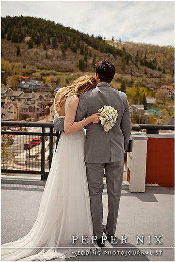 couple wed