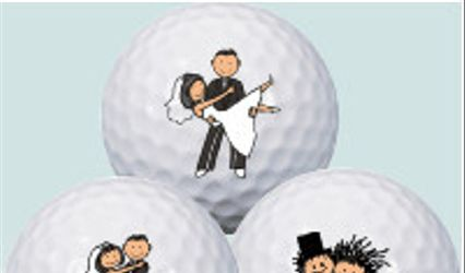 Wedding Golf Balls - PromoGolfBall