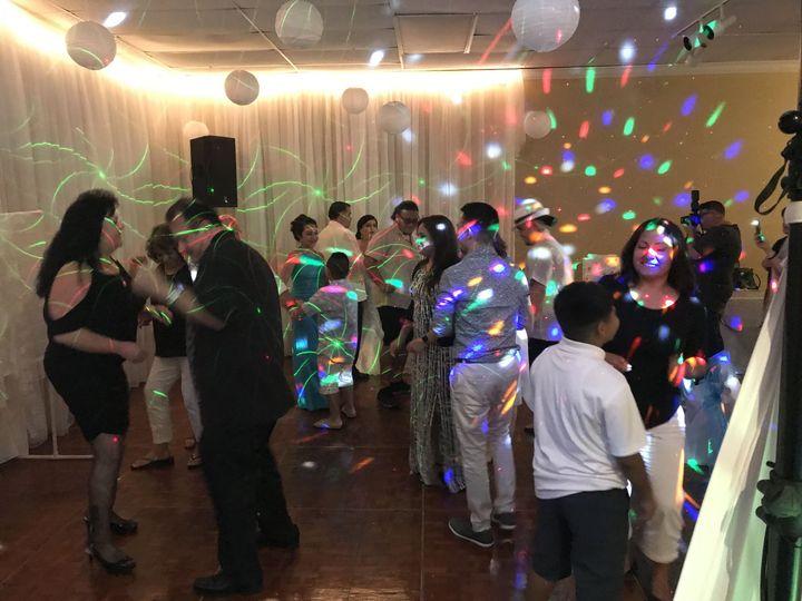 Dance floor fun
