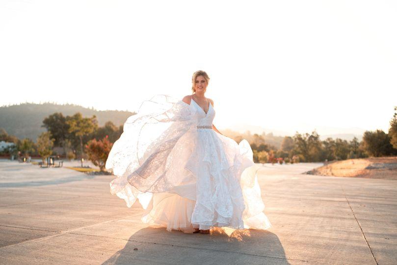 Bride at the RV Park