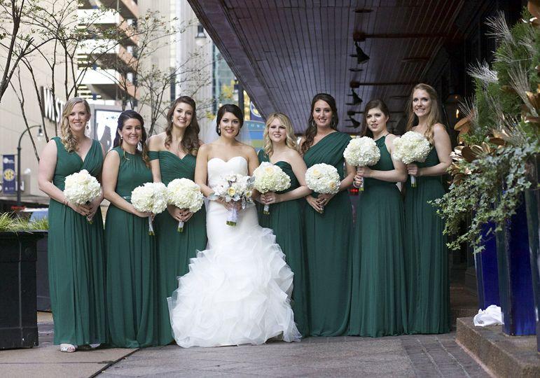 atlanta wedding photographer bridal party