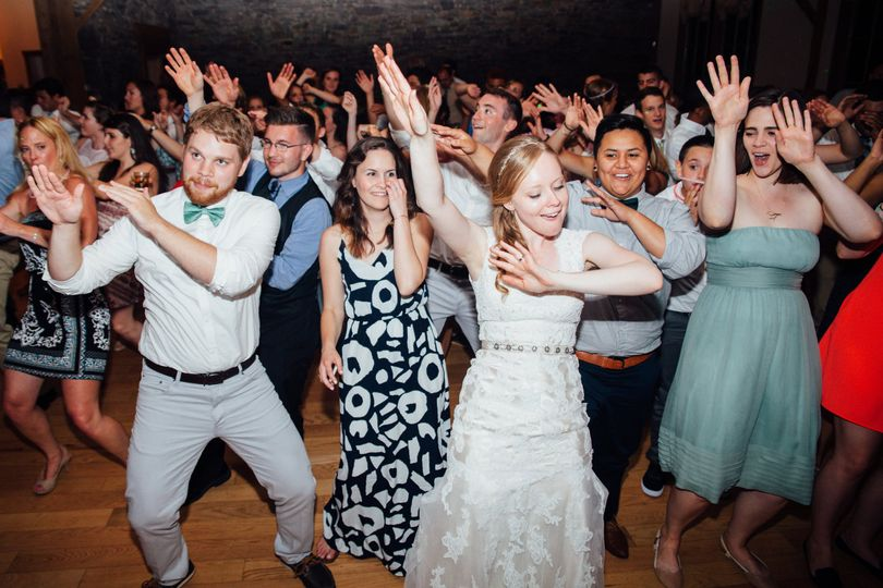 This was one bride who knew how to party. She was in the center of the dance floor most of the...