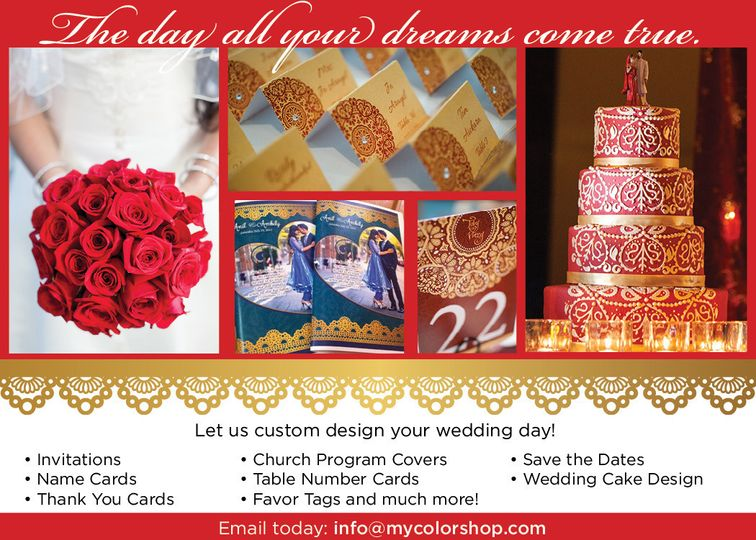 wedding design ad