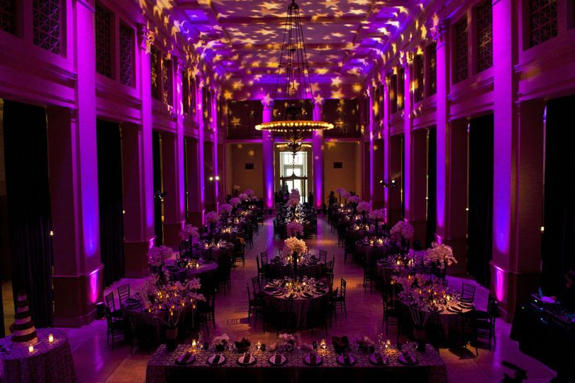Wedding DJ Services in the Old Federal Reserve Building in San Francisco.