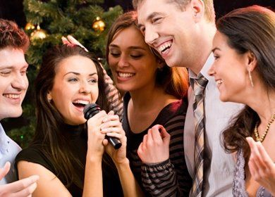 We specialize in Karaoke.  Our extensive selection spans decades guaranteed to please your guests...