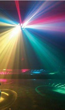 Lighting systems are available.  You bring the people, we'll bring the party