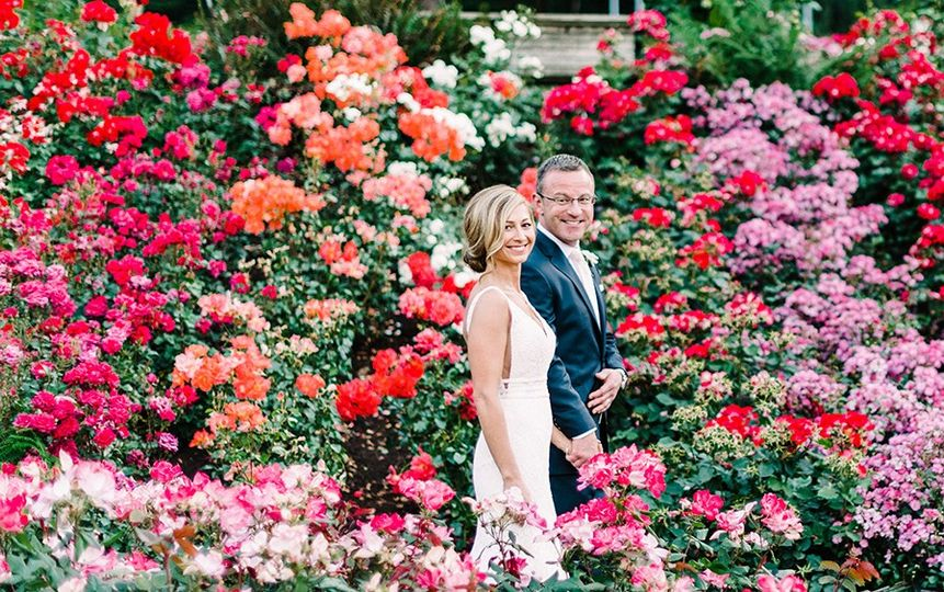Portland Rose Garden Wedding