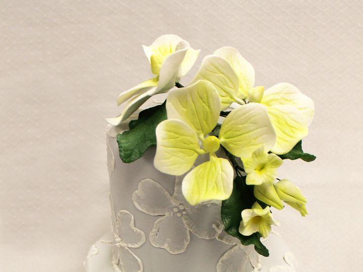 Tmx 1470857572796 2tot Off White  Grey Buttercream Yellow Flower Scr Chicago wedding cake