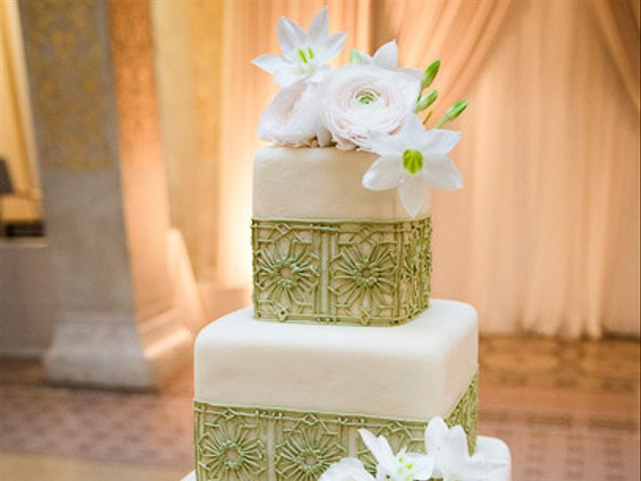 Tmx 1470858418828 Dan And Mandy Wedding Cakec Chicago wedding cake