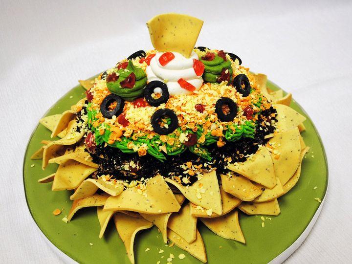 Tmx 1470945204786 Sculpted Nachos Cheese Chips Fondant 3   Web Chicago wedding cake