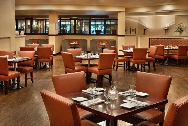 Savor delicious American cuisine at J. Porters Restaurant at the Marriott hotel in Trumbull, CT.