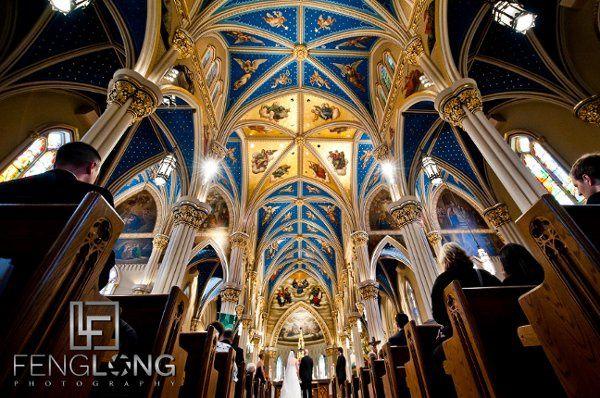 Destination Wedding at University of Notre Dame