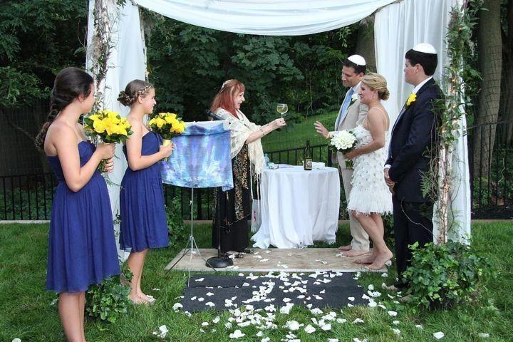 Wine pouring ceremony