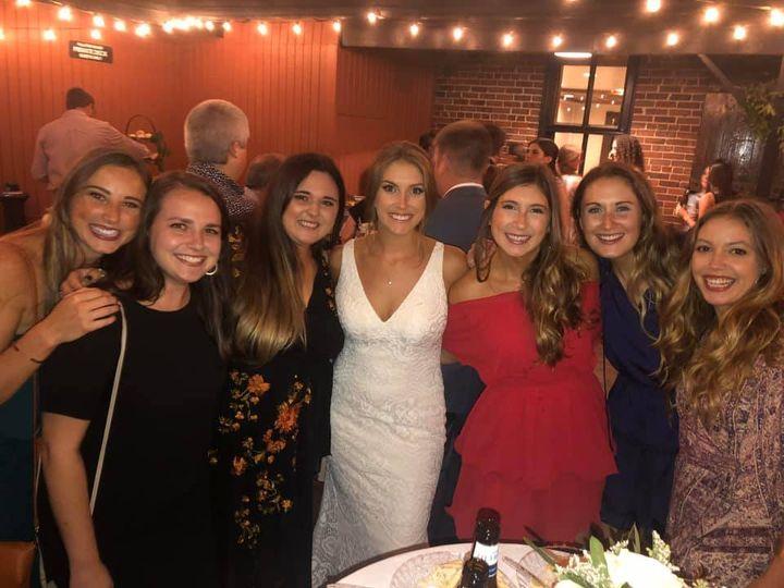 Waterfront Bride Friends
