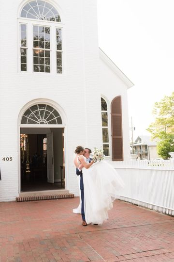 Old Christ Church Just Married