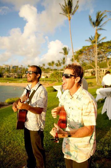 Outdoor singing