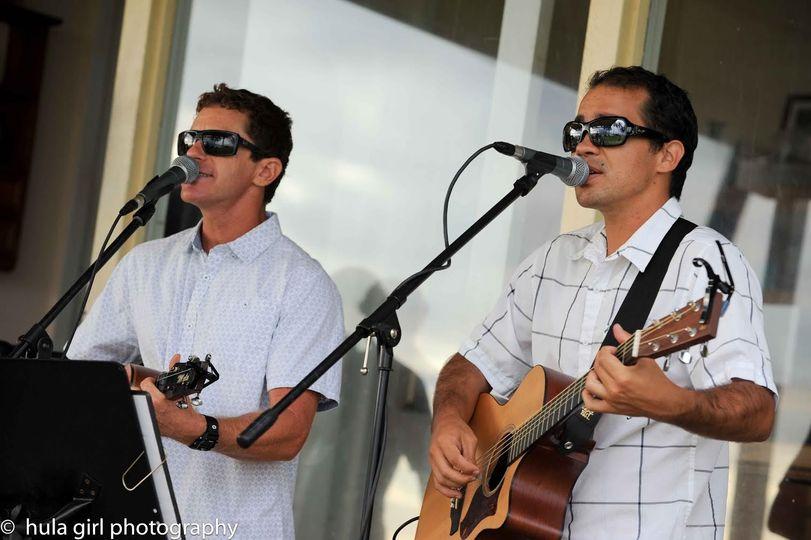 Singing outdoors