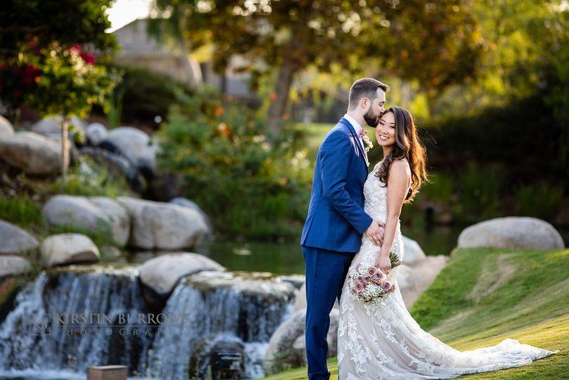 Romantic waterfall photo