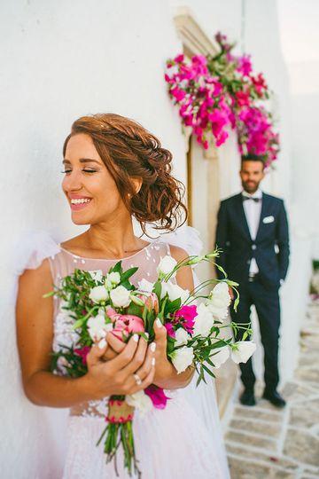 Wedding in Folegandros island, Greece